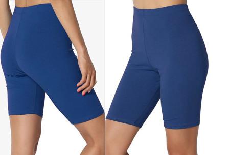 Dames short | Korte broek om in te sporten of voor alledaags blauw