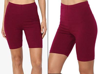Dames short | Korte broek om in te sporten of voor alledaags wijnrood