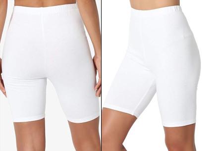 Dames short | Korte broek om in te sporten of voor alledaags wit