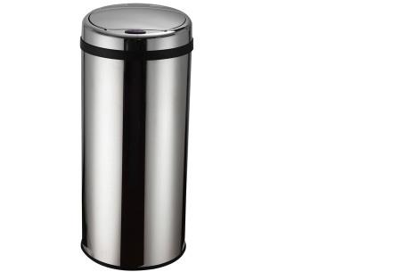 O'Daddy sensor prullenbakken | Volautomatische vuilnisbakken met infraroodsensor rond rvs