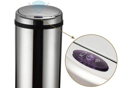 O'Daddy sensor prullenbakken | Volautomatische vuilnisbakken met infraroodsensor
