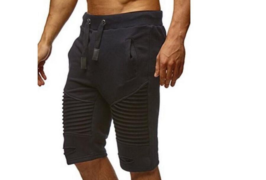Korte joggingbroek voor heren - Maat XL - Zwart