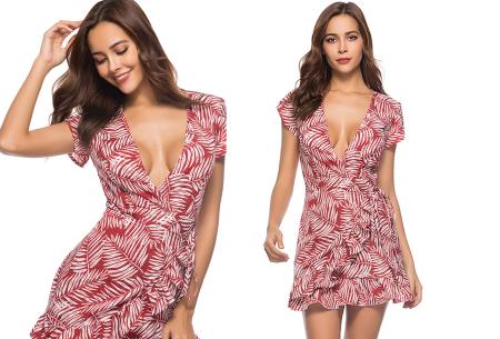 Printed summer dress | Luchtige zomerjurk in 9 trendy printjes #a
