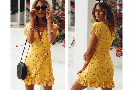 Printed summer dress | Luchtige zomerjurk in 9 trendy printjes #F