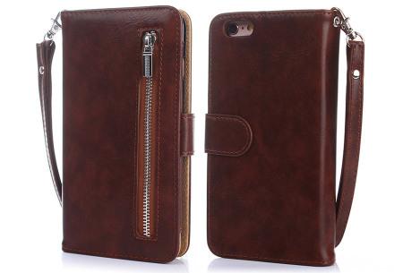 Telefoonhoesje 2-in-1 met magneet | Handige 2-delige smartphonecase voor iPhone & Samsung toestellen