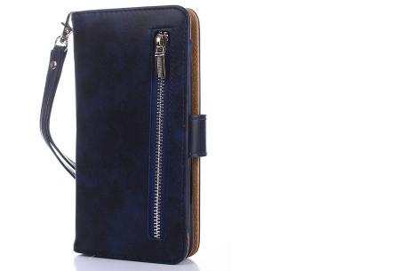 Telefoonhoesje 2-in-1 met magneet | Handige 2-delige smartphonecase voor iPhone & Samsung toestellen navy blauw