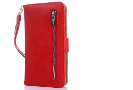 Telefoonhoesje 2-in-1 met magneet | Handige 2-delige smartphonecase voor iPhone & Samsung toestellen rood