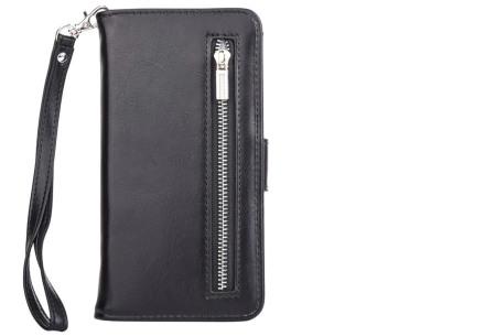 Telefoonhoesje 2-in-1 met magneet | Handige 2-delige smartphonecase voor iPhone & Samsung toestellen zwart