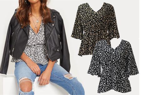 Print blouse in de sale met hoge korting