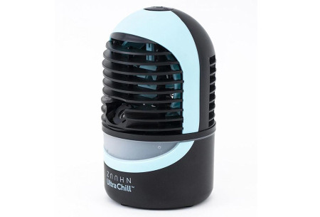 Zaahn Ultra Chill aircooler | 3-in-1 compacte luchtkoeler: koelt, bevochtigt & verspreidt aroma