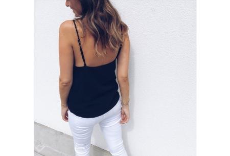 V-neck tanktop | Musthave damestop voor iedere gelegenheid