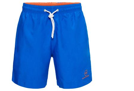 Mario Russo zwembroeken | Basic zwemshorts voor heren - Nu extra afgeprijsd, OP=OP! Kobaltblauw