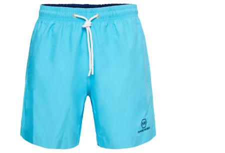 Mario Russo zwembroeken | Basic zwemshorts voor heren - Nu extra afgeprijsd, OP=OP! Lichtblauw