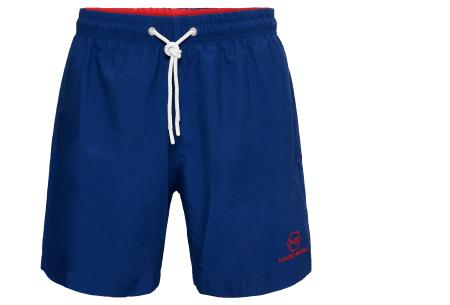 Mario Russo zwembroeken | Basic zwemshorts voor heren - Nu extra afgeprijsd, OP=OP! Navy