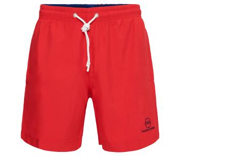 Mario Russo zwembroeken | Basic zwemshorts voor heren - Nu extra afgeprijsd, OP=OP! Rood