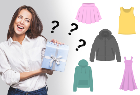 Mystery box - kleding in de sale