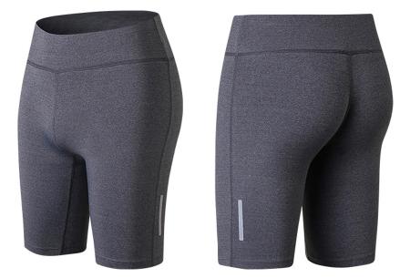 Fietsbroekje | Korte legging voor dames om in te sporten of te dragen als short Grijs