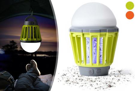 2-in-1 anti-muggenlamp nu heel voordelig in de aanbieding