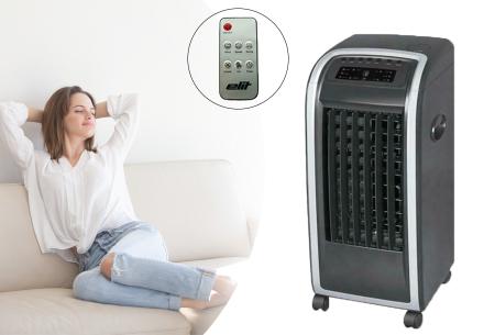 Elit 3-in-1 mobiele aircooler met korting in de aanbieding