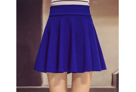 Broekrok | Een rokje en broek in één! Verkrijgbaar in 10 kleuren kobaltblauw