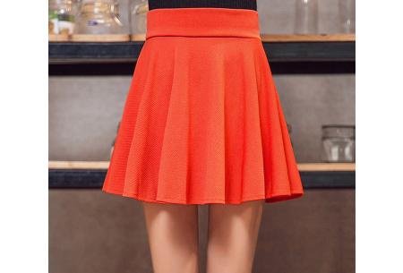 Broekrok | Een rokje en broek in één! Verkrijgbaar in 10 kleuren oranje