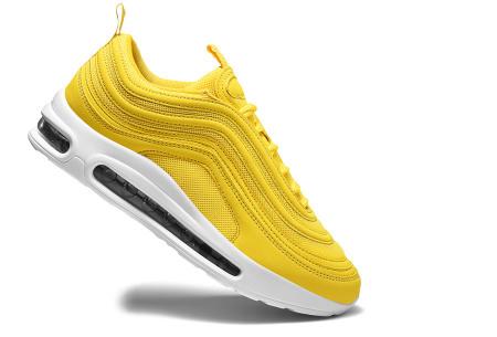 Wave Air damessneakers | Trendy & sportieve schoenen met ultieme demping geel