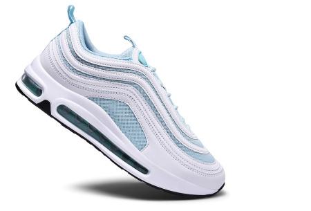 Wave Air damessneakers | Trendy & sportieve schoenen met ultieme demping turquoise/wit