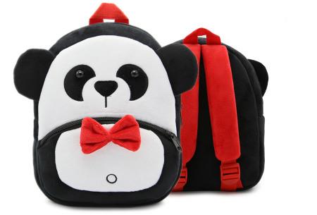 Kinderrugzak met dier + GRATIS drinkbeker | Schattige schooltas voor kinderen - keuze uit 15 dieren panda