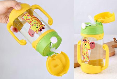 Kinderrugzak met dier + GRATIS drinkbeker | Schattige schooltas voor kinderen - keuze uit 15 dieren