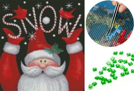 Diamond painting kersteditie nu heel voordelig met hoge korting