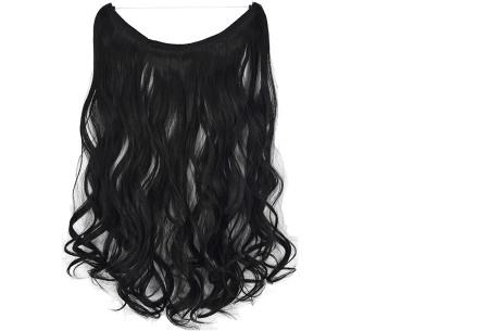 Wire hairextensions met krullen | Lang, vol en gekruld haar in een handomdraai! In 22 kleuren 1BJ