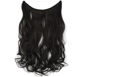 Wire hairextensions met krullen | Lang, vol en gekruld haar in een handomdraai! In 22 kleuren 4A
