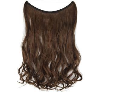 Wire hairextensions met krullen | Lang, vol en gekruld haar in een handomdraai! In 22 kleuren 4A-30B