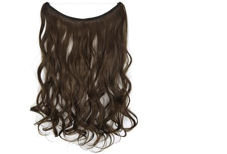 Wire hairextensions met krullen | Lang, vol en gekruld haar in een handomdraai! In 22 kleuren 8#