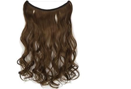 Wire hairextensions met krullen | Lang, vol en gekruld haar in een handomdraai! In 22 kleuren 10#