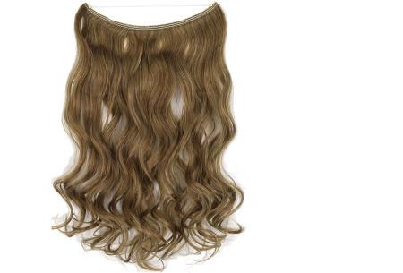 Wire hairextensions met krullen | Lang, vol en gekruld haar in een handomdraai! In 22 kleuren 12-613