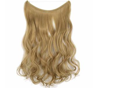 Wire hairextensions met krullen | Lang, vol en gekruld haar in een handomdraai! In 22 kleuren 22#