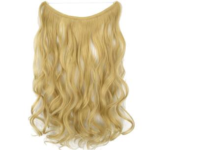 Wire hairextensions met krullen | Lang, vol en gekruld haar in een handomdraai! In 22 kleuren 22-613