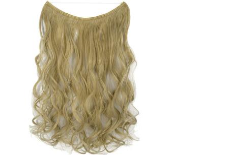 Wire hairextensions met krullen | Lang, vol en gekruld haar in een handomdraai! In 22 kleuren 24-60
