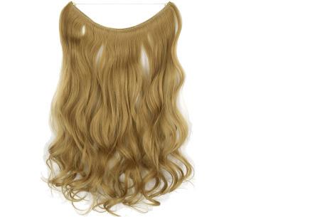 Wire hairextensions met krullen | Lang, vol en gekruld haar in een handomdraai! In 22 kleuren 25#