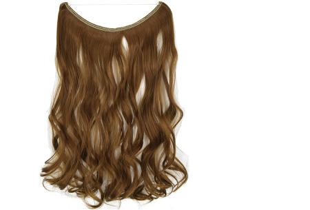 Wire hairextensions met krullen | Lang, vol en gekruld haar in een handomdraai! In 22 kleuren 27#