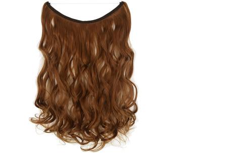 Wire hairextensions met krullen | Lang, vol en gekruld haar in een handomdraai! In 22 kleuren 30J