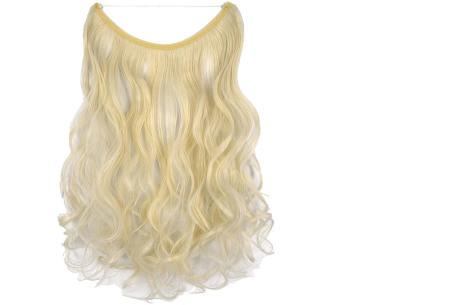 Wire hairextensions met krullen | Lang, vol en gekruld haar in een handomdraai! In 22 kleuren 60#