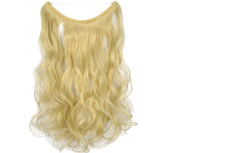 Wire hairextensions met krullen | Lang, vol en gekruld haar in een handomdraai! In 22 kleuren 60-613