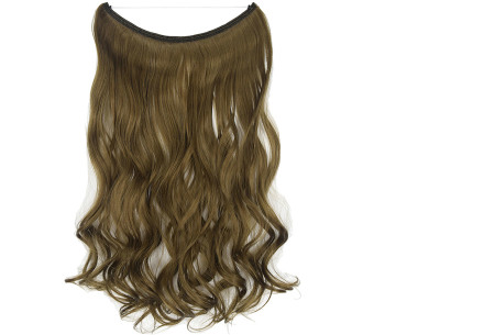 Wire hairextensions met krullen | Lang, vol en gekruld haar in een handomdraai! In 22 kleuren 68#