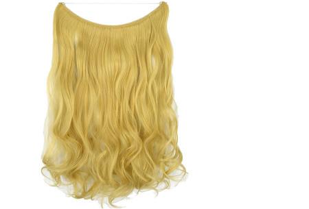 Wire hairextensions met krullen | Lang, vol en gekruld haar in een handomdraai! In 22 kleuren 86-613