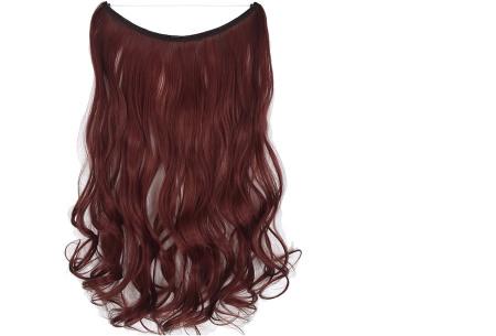 Wire hairextensions met krullen | Lang, vol en gekruld haar in een handomdraai! In 22 kleuren 118#