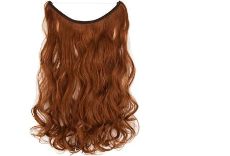 Wire hairextensions met krullen | Lang, vol en gekruld haar in een handomdraai! In 22 kleuren 119#