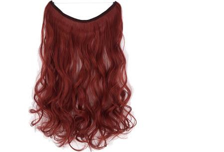 Wire hairextensions met krullen | Lang, vol en gekruld haar in een handomdraai! In 22 kleuren 130M