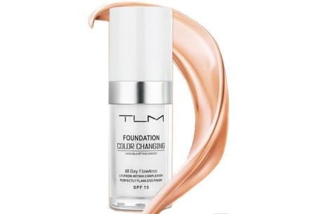 Color Changing foundation | Unieke foundation voor elke huidskleur! Past zich aan de huid aan